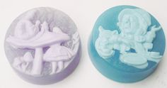 ALICE IN WONDERLAND Soap, Gift Set, Each with a Different Scent, Handmade, Vegatable Based, Vegan Friendly on Etsy, $25.00