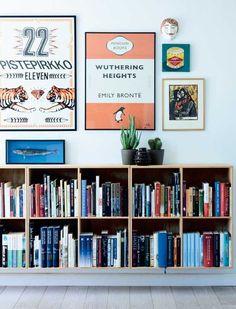 Bolig: Her er farverne og fantasien sluppet løs Room Inspiration, Interior Inspiration, Wall Decor, Room Decor, Interior Decorating, Interior Design, Home And Living, Living Room, Home Goods