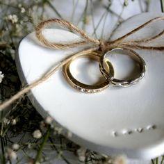 LOVE Heart Wedding Ring Keeper...