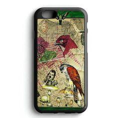 Vintage Bird Painting iPhone 7 Case