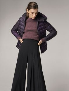 Spring Summer 2017 Women´s DOWN JACKET WITH HOOD DETAIL at Massimo Dutti for 69.95. Effortless elegance!