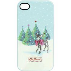 Christmas Deer iPhone 4 Case