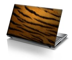 15.6 inch Laptop Tiger Skin Vinyl Decal | Friendly Faces