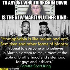 Occupy Democrats Coretta Scott King