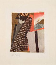 Untitled (BUT BUT), Merzzeichnung 1947 Kurt Schwitters