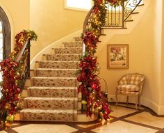 #Christmas staircase