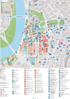 Map Düsseldorf