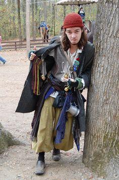 Barbarian by atistatplaydeviantartcom on deviantART Ren Faire Renaissance Fair Costume, Medieval Costume, Renaissance Fashion, Renaissance Clothing, Theatre Costumes, Cool Costumes, Fairy Costumes, Mom Dress, Dress Up