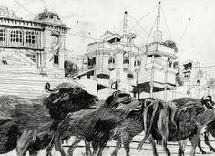 INDIA - benoit guillaume illustration