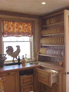 I was tasked to fit an Miele dishwasher ice-maker Sub-Zero refrigerated drawer unit and a bar sink. Not to mention a huge antique plate rack. & love this plate rack | For the Home | Pinterest | Plate racks ...