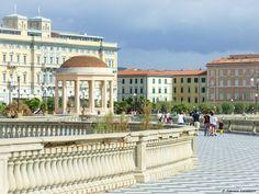 terrazza Mascagni e gazebo - Livorno