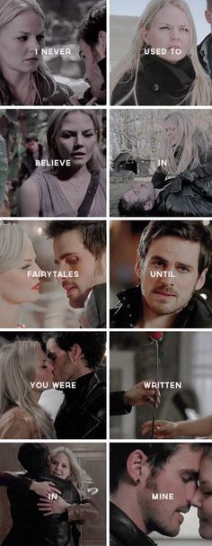 CaptainSwan || I never used to believe in fairytales until you were written in mine