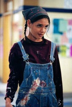 Dawson's Creek Joey Potter in dungarees - Nineties denim perfection