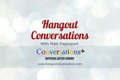 Logo for Conversations+  https://plus.google.com/112513007869568099033/posts  (ala B.J. Woods)