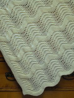 Find and save knitting and crochet schemas, simple recipes, and other ideas collected with love.Cashmerino lace blanket luxuriously soft feather and fan heirloom quality hand knit blanket elegan Baby Knitting Patterns, Knitting Stitches, Free Knitting, Hand Knit Blanket, Knitted Baby Blankets, Crochet Baby, Feather, Creamy White, Knit Lace