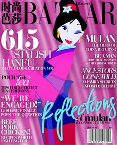Disney Characters on Magazine Covers