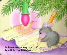 House Mouse Christmas page 16.