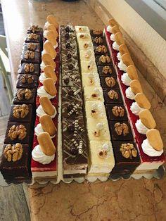 Mini Dessert Shooters, Mini Dessert Cups, Mini Dessert Recipes, Mini Desserts, Christmas Desserts, Elegant Desserts, Wedding Desserts, Cupcakes, Kolaci I Torte