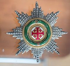 Equestrian Order of the Holy Sepulchre of Jerusalem Knight Grand Cross Star