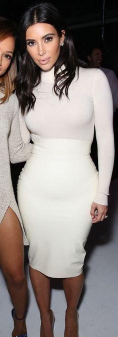 Kim Kardashian's style ID
