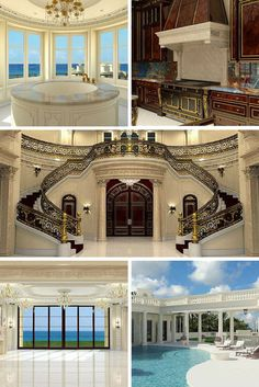 What can $139M buy you?  Oh... how about a 50 ft wide screen Imax theatre, 30 car garage, 4,500 sqft infinity-edge pool, over 1,000 ft of waterfront and a name like Le Palais Royal!  Click here to view more images of this spectacular mansion: http://www.realtor.com/realestateandhomes-detail/935-Hillsboro-Mile_Hillsboro-Beach_FL_33062_M60911-18464