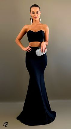 Black II - Formal Prom Dress by STUDIO MINC