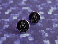 Star Trek earrings | resin earrings