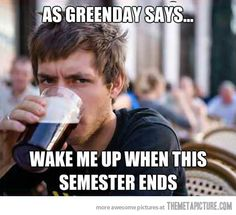 As Greenday says…