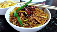 Hmong Clear Noodle Over Pickled Mustard Green Recipe