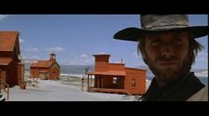 Clint Eastwood painting the town red in High Plains Drifter (1972)