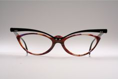 Unusual top line cat eye eyeglasses by TRACTION PRODUCTIONS Mod. TCHANG /K6W