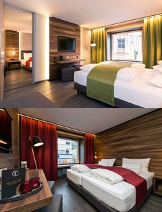 Stadthotel Brunner in the Schladming-Planai-Dachstein/Ski amadé ski region. The barrier-free design hotel with Yoga and Ayurveda offer in Schladming Design Room, Simple Elegance, House In The Woods, Cosy, Austria, Skiing, Boutique, Luxury, Stylish