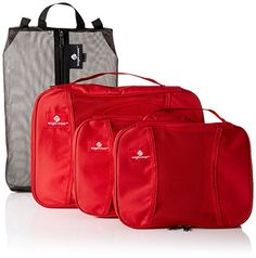 Eagle Creek PackIt Original 4wheel CarryOn Set Red Fire *** You can find out more details at the link of the image.