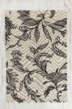 Magical Thinking Painted Vine Rug  #UrbanOutfitters  just bought this for my bathroom!