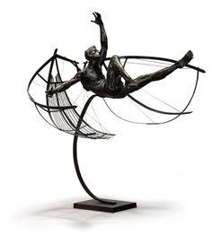 Icarus ,Christophe Charbonnel - Sculptures 2000/2005