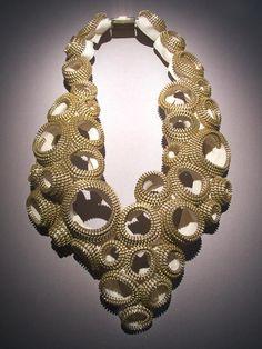DolcePerlato: zipper necklace