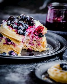 Keto Blueberry wafflesKeto Blueberry wafflesAre you doing Keto but miss waffles? Here is the most delicious and fluffiest Keto Waffles Recipe ever that is sure to impress the entire family.I use Isopurecompany. To my surprise, it has a great texture with protein powder.How to make aKeto Blueberry wafflesIngredients⅔ cup almond flour1 scoop unflavored protein powder Isopurecompany1 teaspoon baking powder⅛ teaspoon salt1 tbsp sweetener2 tablespoon butter2 large egg¼ cup heavy cream1 tsp vanilla extractT