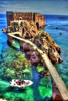 Fort de Saint John the Baptist, Berlenga Island, Portugal