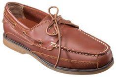 World Wide Sportsman Anchor Boat Shoes for Men - Tan - 10.5 M
