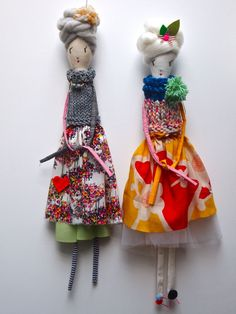 Sazzy dolls by Jess Quinn