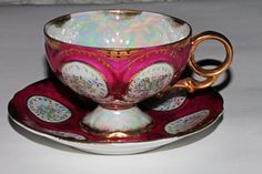 vintage antique 1940's footed japanese tea cup by RetroRecyclables, $38.00 SOLD