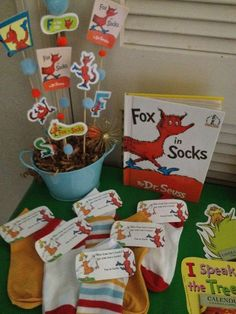 Dr. Seuss (Suessville) Birthday Party Ideas   Photo 4 of 64   Catch My Party