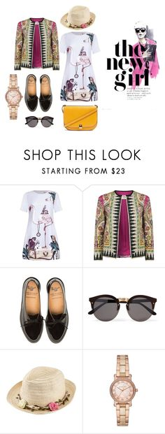 """#ootd"" by krnas on Polyvore featuring Etro, Illesteva, Joe Browns, Michael Kors and Topshop"