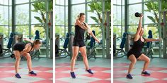 Adding kettlebell training to your workout regimen provides a highly-effective way to build strength, flexibility and power. This full-body complex can be performed two to three times per week, with a minimum of one full day of rest between workouts.