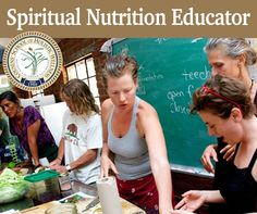 Just A Few Days Left To Save 15% This intense, one-of-a-kind, residential program is happening May 7 - June 14.  Sign up today and become a Certified Spiritual Nutrition Educator.