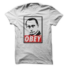 Vladimir Putin - Obey  - #gifts for girl friends #personalized gift. FASTER => https://www.sunfrog.com/Political/Vladimir-Putin--Obey-.html?68278