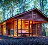Tiny, Ultraportable ESCAPE Cabin Can be Moved Anywhere Just Like an RV | Inhabitat - Sustainable Design Innovation, Eco Architecture, Green Building