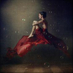 """anka zhuravleva, saint petersburg, from her series """"distorted gravity"""""""