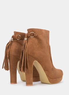 Pedro Miralles Faux Suede Stiletto Ankle Boots