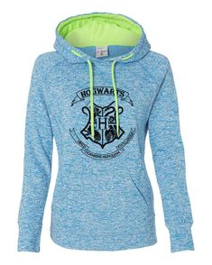 Harry Potter Hogwarts School crest emblem logo super soft hoodie sweatshirt kangaroo pockets ladies girls (s, m, l, xl, xxl)
